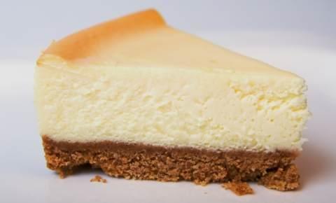 Cheesecake sem calda