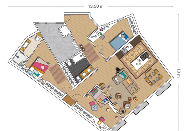 Casa-com-bossa_Apartamento-moderno-em-edificio-do-seculo-xviii_Imagem-14